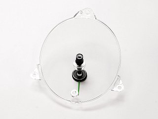 69-70 ROUND CLOCK LENS AND POINTER ASSEMBLY