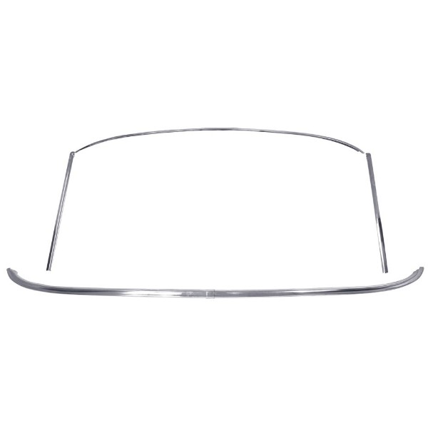 69-70 WINDSHIELD MOLDING KIT - FASTBACK