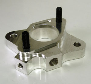 "CONVERSION CARB SPACER ADAPTOR- 1BRL - 1 3/4""TO 1 1/2"""