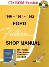 CD SHOP MANUAL - 60-62 FALCON (ALSO CONTAIN 63 FALCON & COMET SU