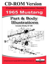 65 MUSTANG PARTS & BODY ILLUSTRATIONS