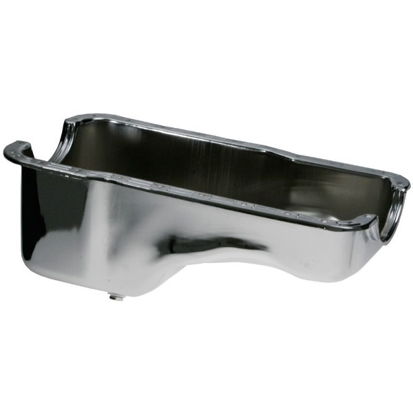 289-302 OIL PAN - CHROME (REPRO)