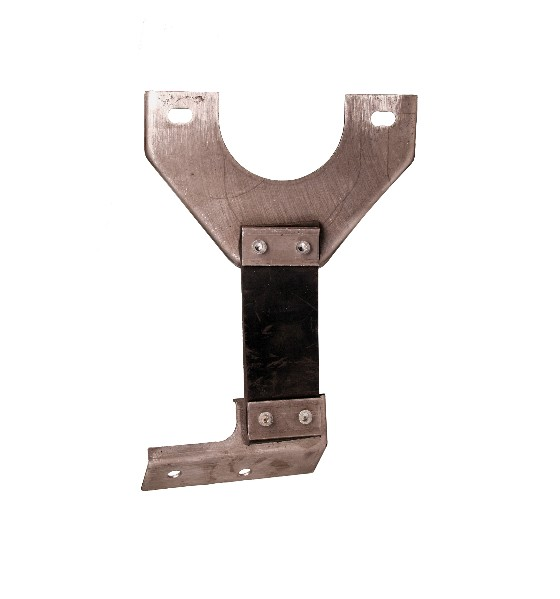 70-73 EXHAUST HANGER WITH DUAL EXHAUST - RH