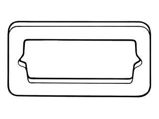 71-73 REAR MARKER TO BODY GASKET