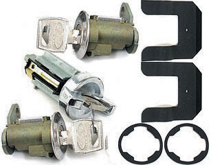 70-73 BOTH DOORS & IGNITION LOCK SET