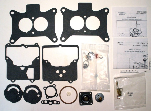 64-70 260,289,302 2 BRRL CARB REBUILD KIT