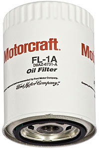 64-73 6 CYL, V8 MOTORCRAFT OIL FILTER