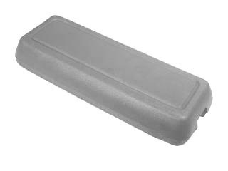 79-86 CONSOLE ARM REST PAD - LIGHT GRAY
