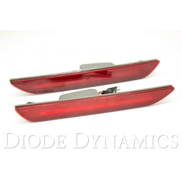 2015-17 LED SIDE MARKER LIGHTS WITH RED LENS - PAIR