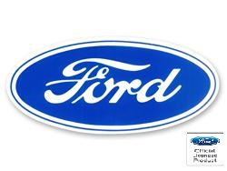"3"" SMALL FORD OVAL DECAL"