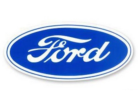 "6"" MEDIUM FORD OVAL DECAL"