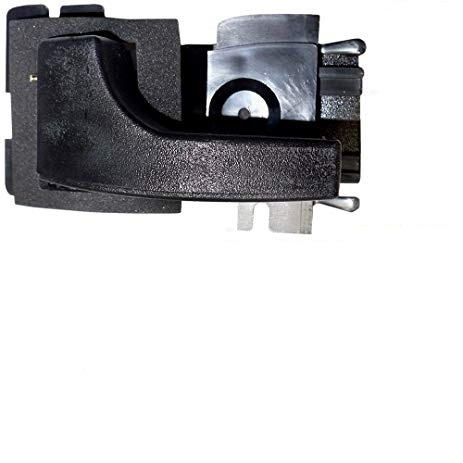79-93 LH INSIDE DOOR HANDLE (BLACK)