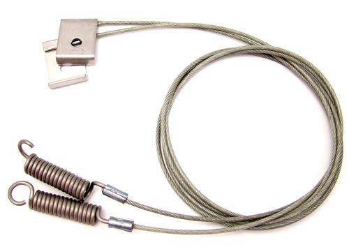 "94-FEB 95 CONVERTIBLE TOP 35-1/8"" SIDE TENSION CABLES"
