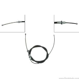 83-92 REAR BRAKE CABLE - RH or LH
