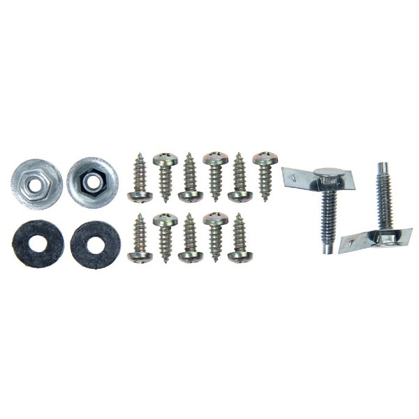 66-68 REAR VALANCE HARDWARE - 17 PCS