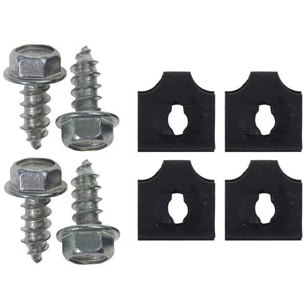 67 RADIATOR FAN SHROUD BOLT KIT- ALL - 8 PCS