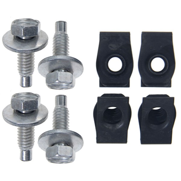68-69 RADIATOR MOUNTING HARDWARE - STD COOLING