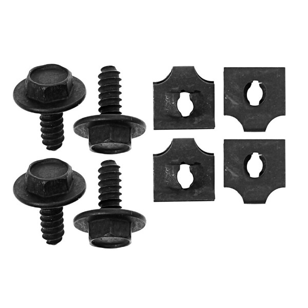 68-70 ALL RADIATOR FAN SHROUD HARDWARE BOLT KIT - 8 PCS
