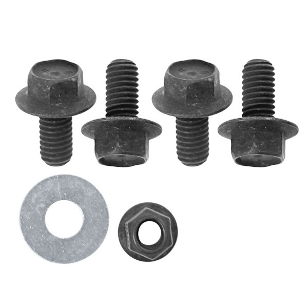 65-66 289 WITH A/C FORD PUMP POWER STEERING PUMP BOLT KIT - 7 PC