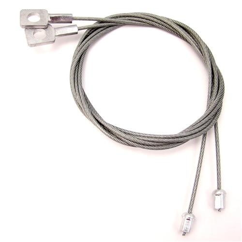 "LATE 90-91 CONVERTIBLE TOP 38-3/8"" SIDE TENSION CABLES"