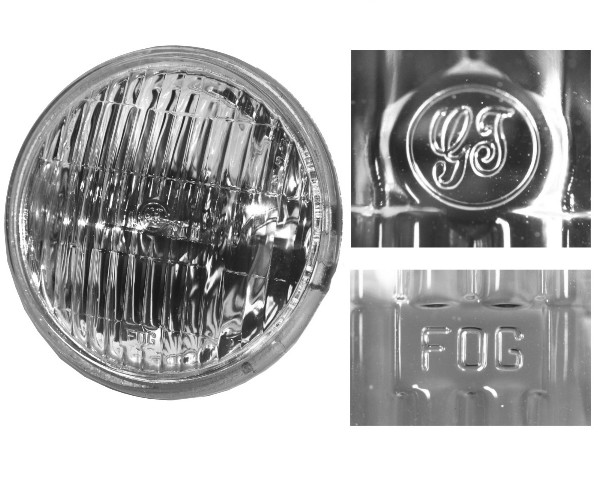 65-68 CLEAR GT FOG LIGHT BULB
