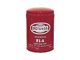 64-65 OEM RED ROTUNDA OIL FILTER