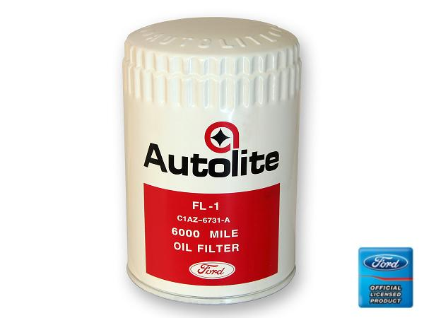 67-73 WHITE AUTOLITE OIL FILTER