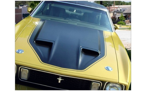 Graphic Express - 1971-72 Mustang Mach 1 Complete Stripe