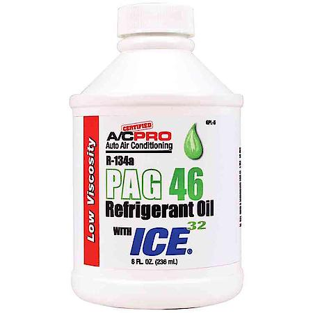 PAG OIL 8oz 46 VISCOSITY (for 134A Only)