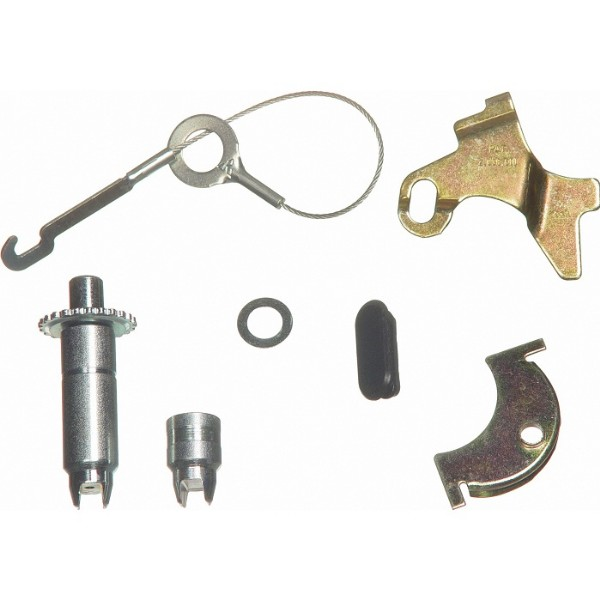 6 CYLINDER LH SELF ADJUSTING BRAKE HARDWARE KIT