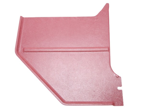 66 COUPE / FASTBACK KICK PANELS - DARK RED