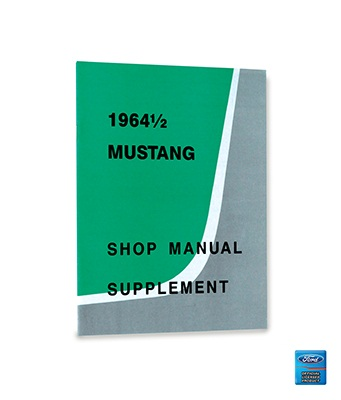 1964 1/2 SHOP MANUAL SUPPLEMENT