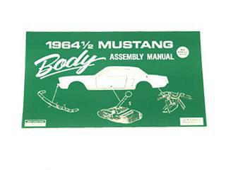 1964 1/2 BODY ASSEMBLY MANUAL