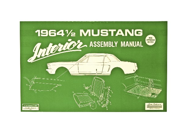 1964 1/2 INTERIOR ASSEMBLY MANUAL