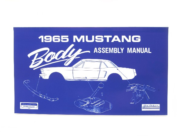 1965 BODY ASSEMBLY MANUAL