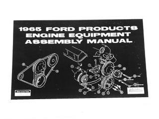 65 FORD PROD ENGINE EQUIPMENT ASSEMBLY MANUAL