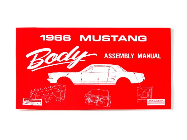 1966 BODY ASSEMBLY MANUAL