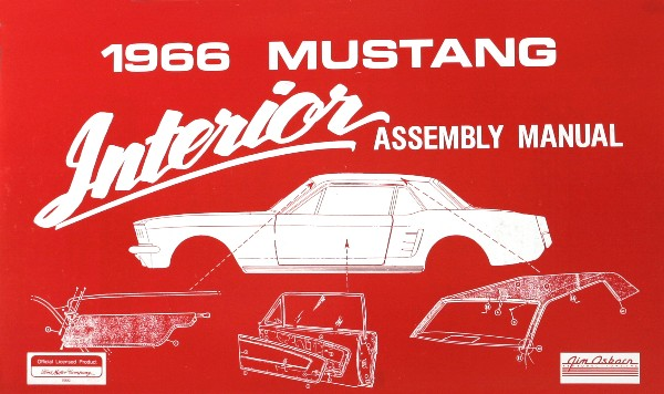 1966 INTERIOR ASSEMBLY MANUAL