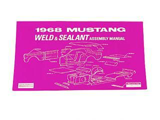 1968 WELD/SEALANT ASSEMBLY MANUAL
