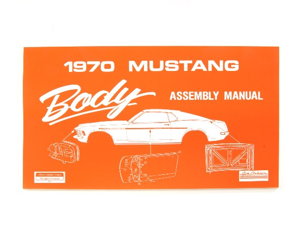 1970 BODY ASSEMBLY MANUAL