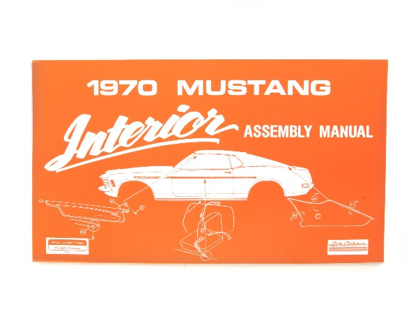 1970 INTERIOR ASSEMBLY MANUAL