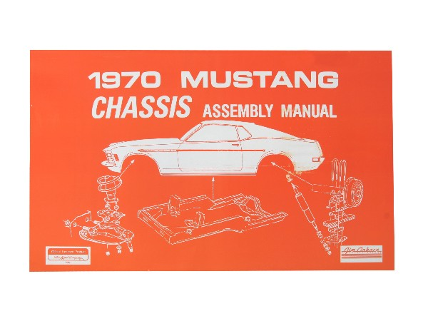 1970 CHASSIS ASSEMBLY MANUAL