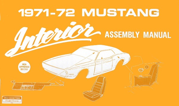 71-72 INTERIOR ASSEMBLY MANUAL