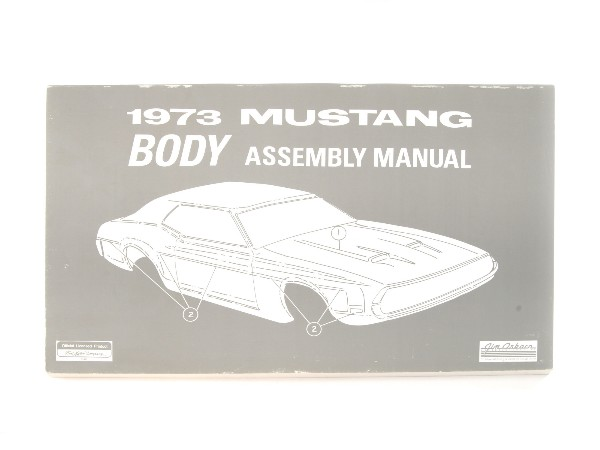 1973 BODY ASSEMBLY MANUAL