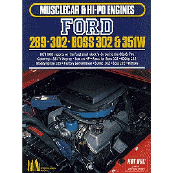 BOOK FORD 289/302 MUSCLECAR & HI-PO ENGINES