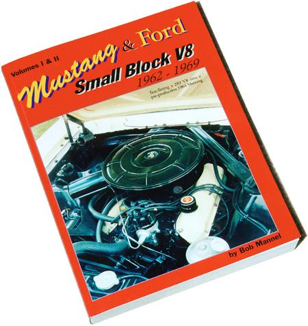 BOOK - MUSTANG AND FORD, SMALL BLOCK V8, 62-69