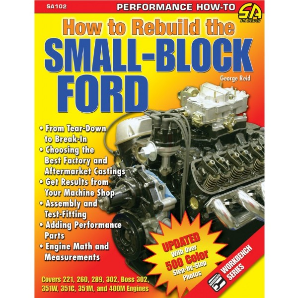 BOOK HOW TO REBUILD THE SMALL-BLOCK FORD