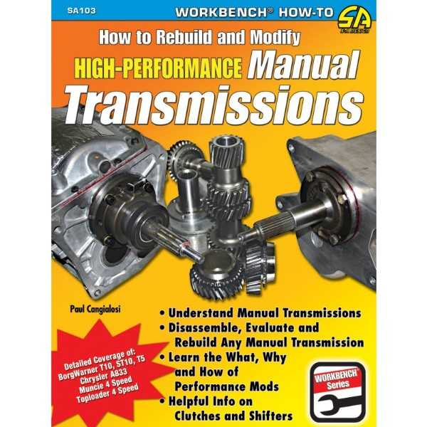 BOOK HOW TO REBUILD & MODIFY HIGH-PERFORMANCE MANUAL TRANSMISSIO