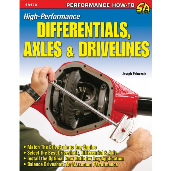 BOOK HIGH-PERFORMENCE DIFFERENTIALS, AXLES, AND DRIVELINES