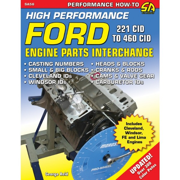 BOOK HIGH-PERFORMANCE FORD ENGINE PARTS INTERCHANGE